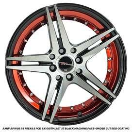 VELG AMW APW05 RS JAZZ BRIO MOBILIO AVANZA R16X8.5 8X100-114,3 ET37