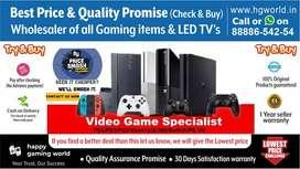 BestDeals Xbox360 1S 1X,PS2 ps3 ps4,Switch,VR-allGamingItems&LED TVs