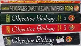 NEET Dinesh objective biology BOOKS