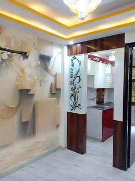 1Bhk flat at 14.5 lacs in uttam nagar with 90% bank loan facility