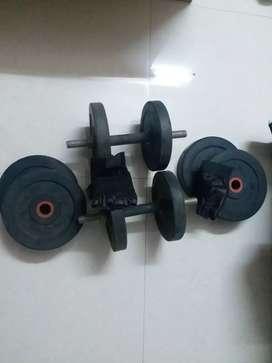 Gym set 20kg