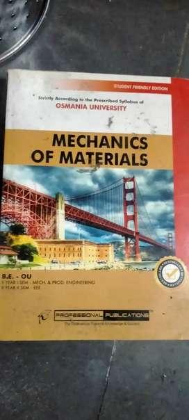 Mechanics of materials For OU