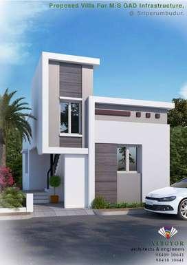 villas for sale @ << sriperumbudur toll plaza