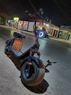 Harley electric scooty for adults