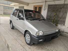 2005 model, silver coloured family used mehran.