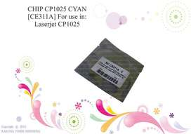 Chip Cp1025 Cyan [Ce310A] LASER COLOR Cp1025