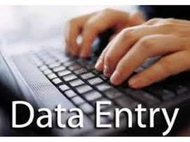 Home based part time job data entry work hurry up call now