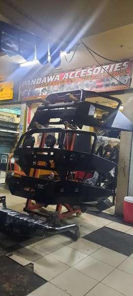 Bumper depan strada triton model arb