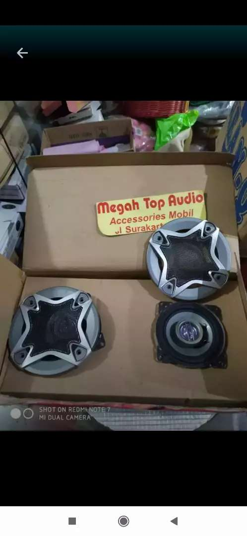 Speaker coaxial 4 inch intersys 0