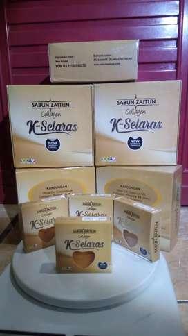 Sabun zaitun collagen k selaras ORI 50 gr