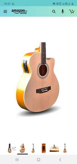 Kadence Frontier Jumbo Semi Acoustic Guitar With Die Cast Keys