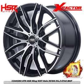 Velg Mobil Murah Ring 15x7 HSR COMORO Buat Mobil Avanza New Kijang LGX