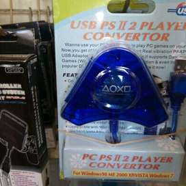 Converter Stik Ps2 to Ps3  Double