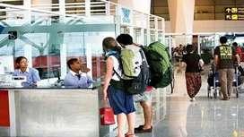 Hiring for ground staff urgent requirement