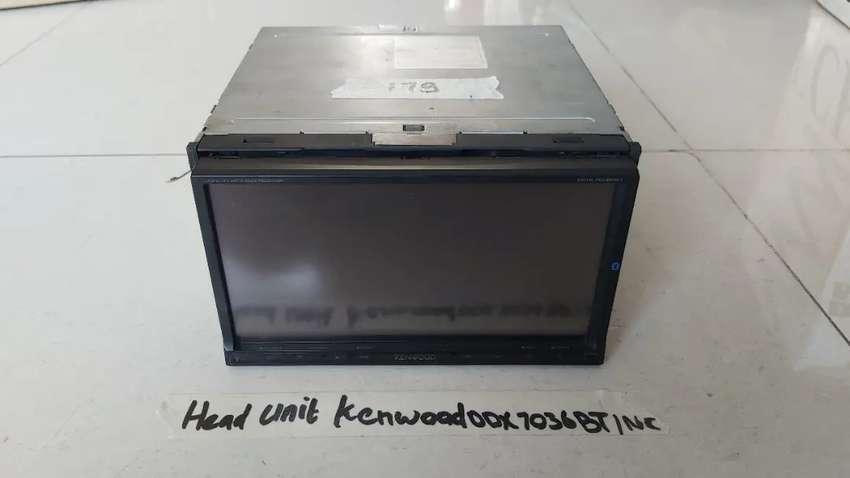 di jual cepat head unit kenwood ddx7036bt  7 inc 0