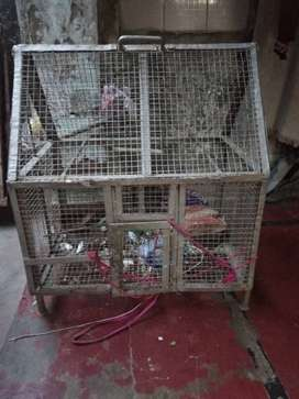 Very heavy cage for pets