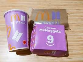 BTS Meal x McDonald's (Packaging saja TANPA makanan)