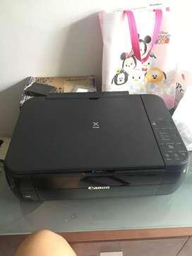 djual mrah Printer Canon MP287 scan bisa, kondisi normal