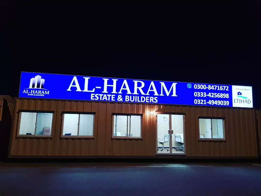 Backlit board in Lahore/ 3D Signs in lahore