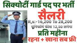 Urgent Bharti:- Security Guard