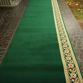 Karpet Masjid Harga Per Roll Tebal 7 mm Bisa Cod