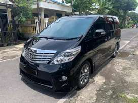 Alphard 2008 S CBU premiumsound new model solo