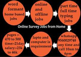 Work from Home Jobs home based part time
