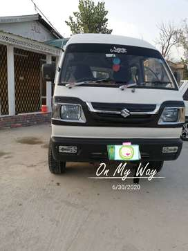 Suzuki Bolan 2011 Model Lahore # Company fitted CNG Life time token.