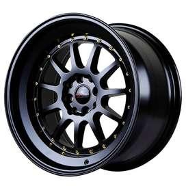 jual velg mobil original hsr wheel ring 17 untuk evalia mobilio calya