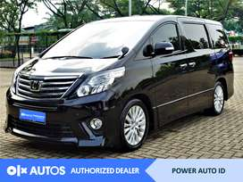 [OLX Autos] Toyota Alphard 2013 SC 2.4 Bensin A/T Hitam #Power Auto ID