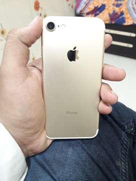 i phone 7 128 gb orignal bill box charger