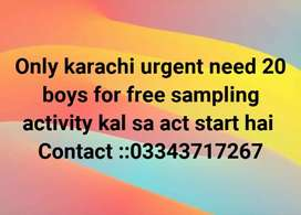 Urgent need for boys activity