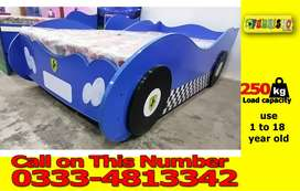 KIDS CAR BED | KIDS BEDS | BABY SINGLE BED | CHILDREN BEDS BY FURNISH