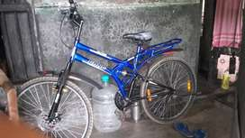 Gang trier new cycle brought  daysh with dish brake shocker and spring