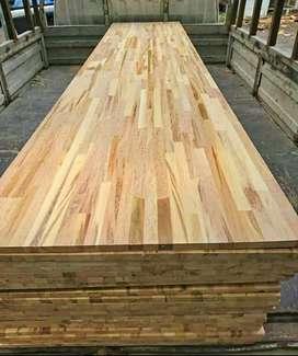 Lem board kayu sambung pinus dan jati belanda