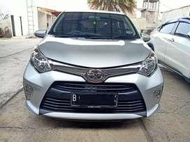 Toyota Calya G Manual 2017 Silver Dp murah