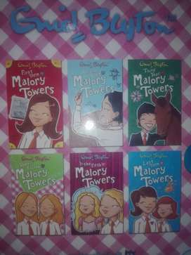 nid Blyton's Malory Towers 6 Books Collection