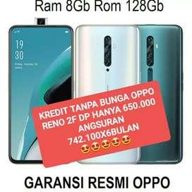OPPO RENO 2F BS KREDIT DP 650 TANPA BUNGA BISA TUKAR TAMBAH