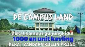 (De campus land) jual kavling tanah murah lokasi strategis kampus uny