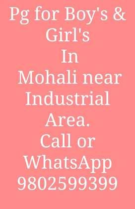 Pg for Boys in Mohali.