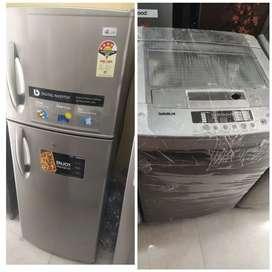 5 years warranty 8500/- fridge// washing machine:- 6500/-