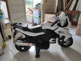 Motor Mainan Anak Pakai Aki / Motor Ninja Mainan Bisa Dinaiki PMB M688