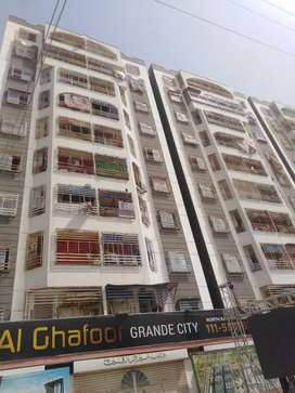 Al ghafoor atrium North karachi 1 bed launge double gearly corner