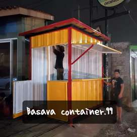 Container jualan, booth dagang, booth bazzar, container usaha