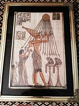 Ancient Egyptians old paintings