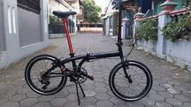 Sepeda tern b7 upgrade mantap