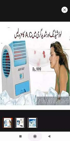 Beauty Station Mini Air Conditioner Shaped Cooler Fan And Fragrance |