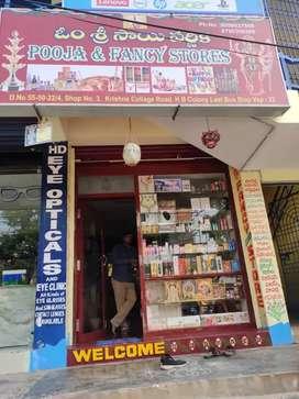 Fancy items and pooja samagri shop
