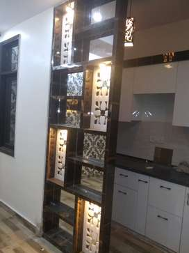 3D Wallpaper in 1BHK Flat with car parking plzz call now