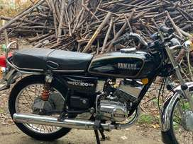 Yamaha rx100 second owner